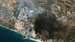 """""""Хамас"""" обяви атака срещу израелски химически завод близо до границата с Газа"""