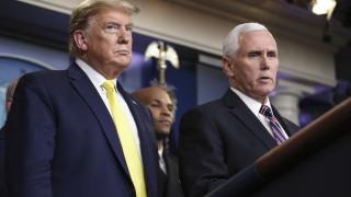 Пенс не се е тествал за коронавирус, не знае за Тръмп