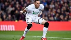 Манчестър Сити се насочи към испански вратар