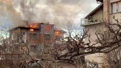 Пожар обгази жена в Пловдив