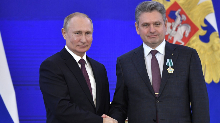 Путин награди Николай Малинов