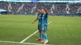 Зрелище в Русия, Зенит разби отбора на Хичо със 7:1