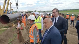 "Борисов се похвали пред Вучич, че се работи на пълни обороти по АМ ""Европа"" и ""Балкански поток"""