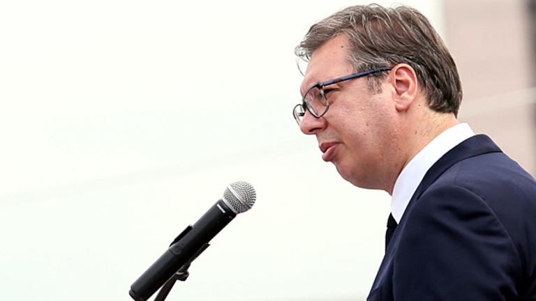 Вучич: Докато аз съм президент, Сърбия няма да признае Косово