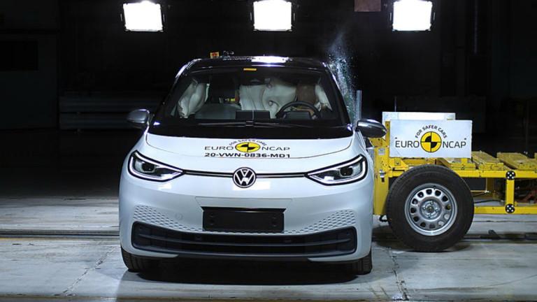 Независимата европейската организация организация Euro NCAP проведе краш тест на
