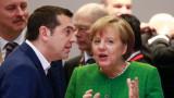 Меркел е в Атина; протестите са забранени