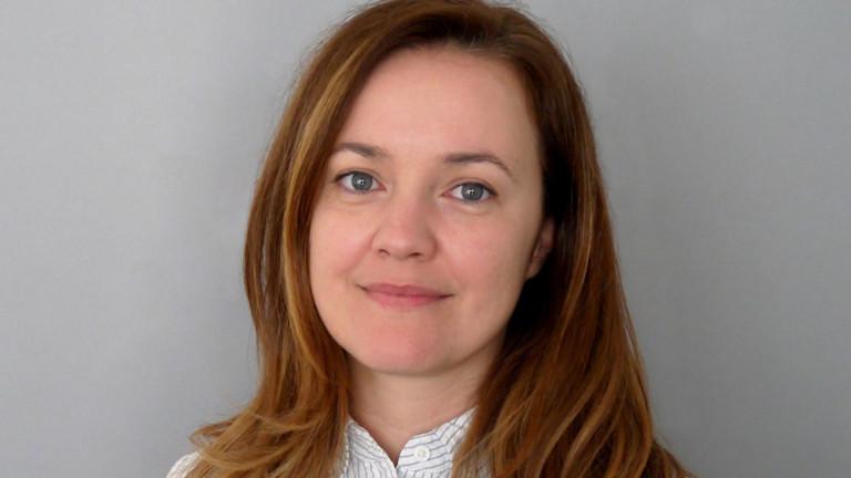 Анна Кастрева застава начело на отдел