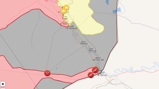 Сирийската армия обкръжи последната крепост на ДАЕШ в Албу Камал