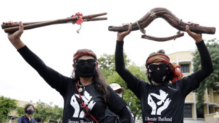 Продемократичен протест в Банкок привлече 10 000 души