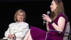 Челси и Хилъри Клинтън навлизат в киното