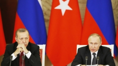 Ердоган и Путин призоваха света да се бори с тероризма в Сирия