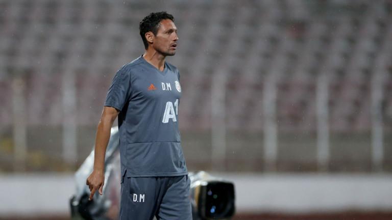 Треньорът на ЦСКА Добримир Митов даде официална пресконференция преди реванша