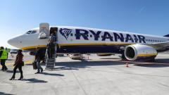 Ryanair спира полетите до 5 дестинации от София