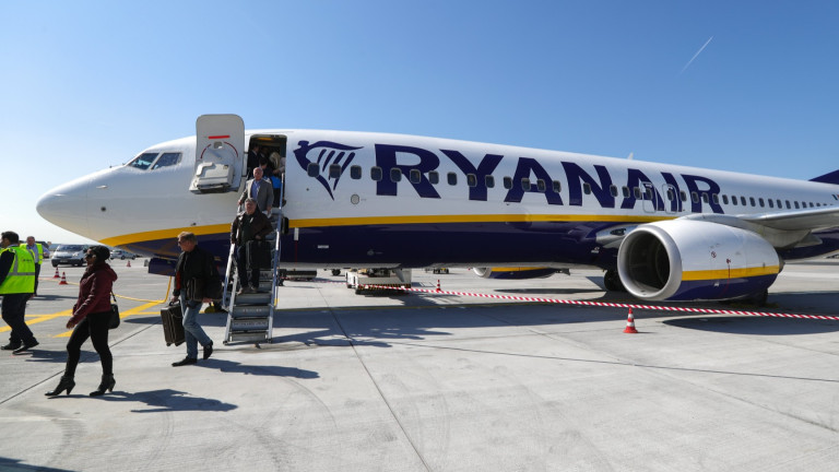 Ryanair ще възобнови 40% от полетите през юли с нови правила за пътниците