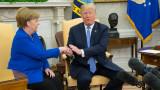 Дължиш ми $1 трлн., отсякъл Тръмп пред Меркел