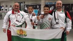 Два бронзови медала за младите ни таланти в борбата от европейското в Унгария