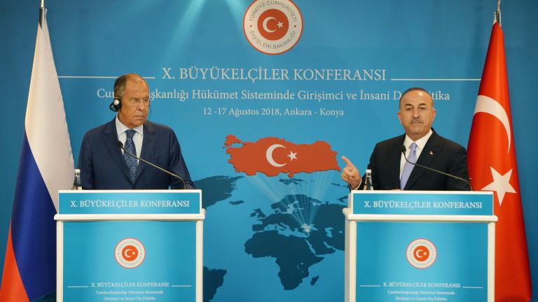 Министърът на външните работи на Турция Мевлют Чавушоглу заяви, че