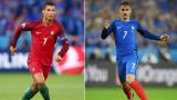 Франция - Португалия: кой ще е новият европейски шампион?