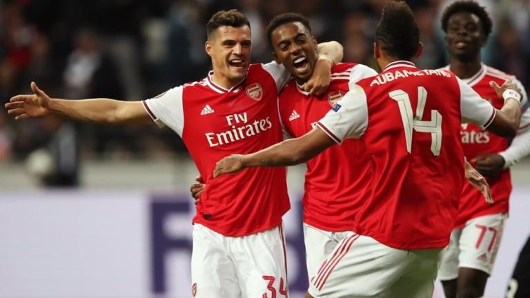 Арсенал разби Айнтрахт (Франкфурт) с 3:0 като гост в мач