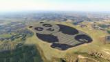Фотоволтаичен парк във формата на панда се появи в Китай