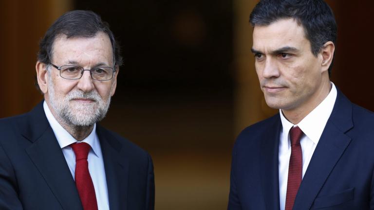 Опозиционните испански социалисти подкрепят правителството в Мадрид за Каталуния