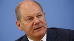 Олаф Шолц предлаган за канцлер на Германия