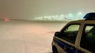 Спецоперация на летището във Франкфурт
