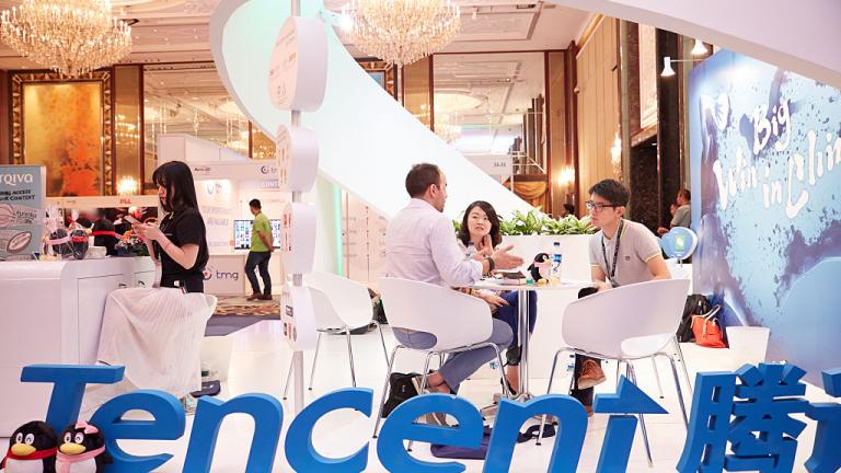 Tencent с най-голямата доларова облигация в Азия тази година
