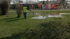Пръскат срещу кърлежи и комари в София