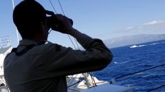 Гръцки изтребител падна в Егейско море при преследване на турски самолети