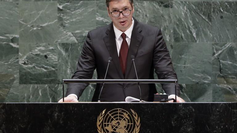 Вучич: Никой повече от Сърбия не иска  да се разреши проблемът с Косово