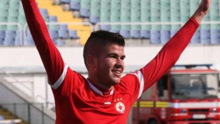 Юноша на ЦСКА продължава да блести за Рилски спортист