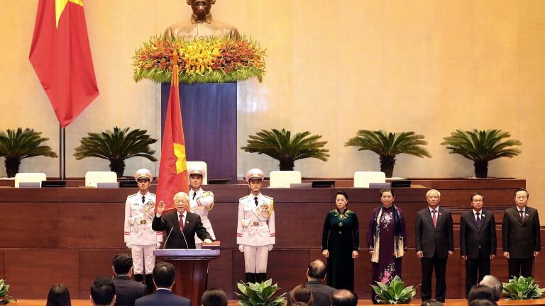 Националното събрание на Виетнам избра генералния секретар на управляващата Комунистическа