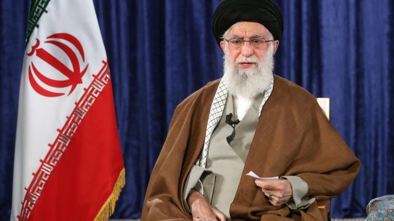 Върховният лидер на Иран Али Хаменей в реч в четвъртък