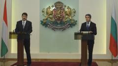 Южен поток означава сигурност, ни обясни унгарският президент