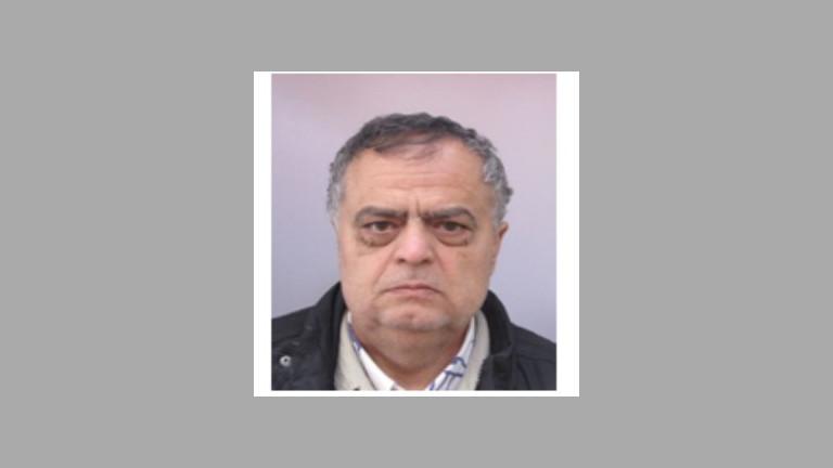 МВР издирва 60-годишен мъж от Сливен. Красимир Петров Петров е