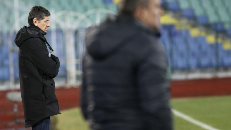 Старши треньорът на Верея Небойша Миличич заяви, че футболистите му