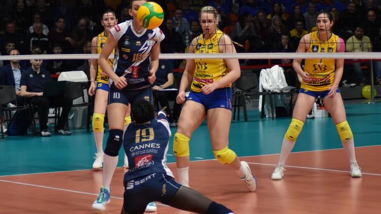Дамският волейболен шампион на България Марица (Пловдив) ще домакинства в