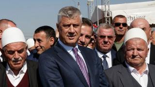 """Тачи обвини международното правосъдие в """"пренаписване на историята"""" на Косово"""