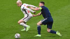 Англия - Шотландия 0:0, Джеймс изчисти от голлинията