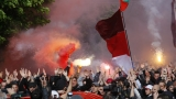 """Без организираните фенове на """"червеното"""" шествие"""