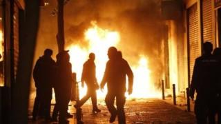 Безредици в Мадрид след смъртта на продавач