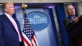 Тръмп иска да уволнява д-р Фаучи, критикувал го за закъснели мерки