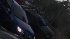 """Катастрофа в София - лек автомобил скочи върху мантинелата на """"Цар Симеон"""""""