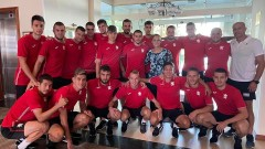 Ивет Горанова пожела успех на младежкия ни национален отбор