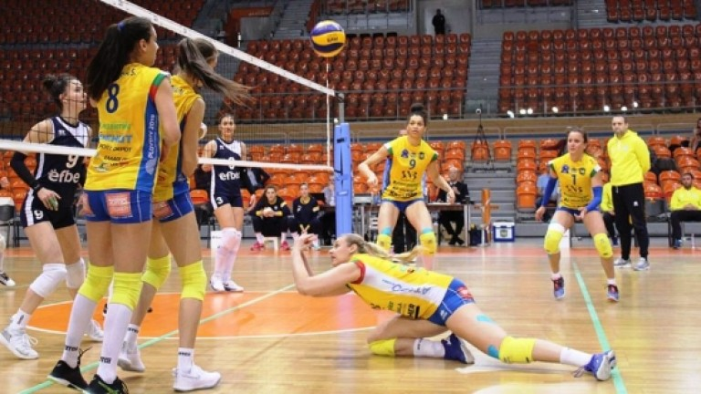 Волейболистките на Марица на две победи от титлата