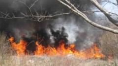 В Изворище още се борят с огъня