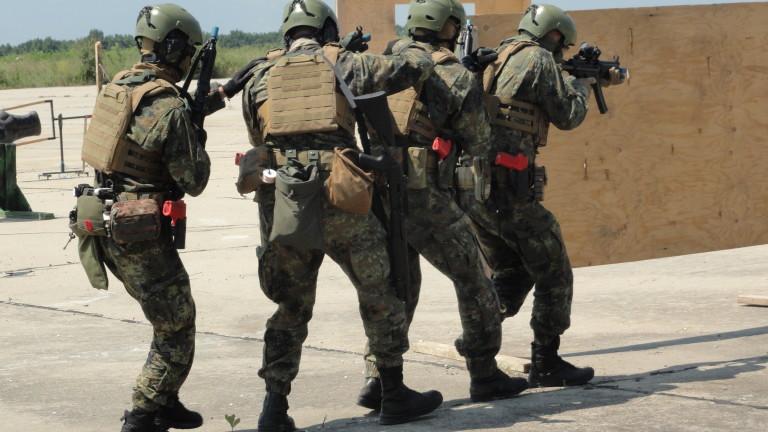 Сертифицираха Тактическата група за специални операции (ТГрСО) за застъпване в