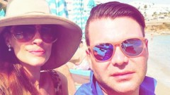 Ангел Енчев заведе Теди Велинова в Миконос (СНИМКИ)