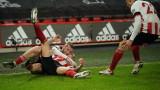 Шефийлд Юнайтед победи УБА с 2:1 във Висшата лига